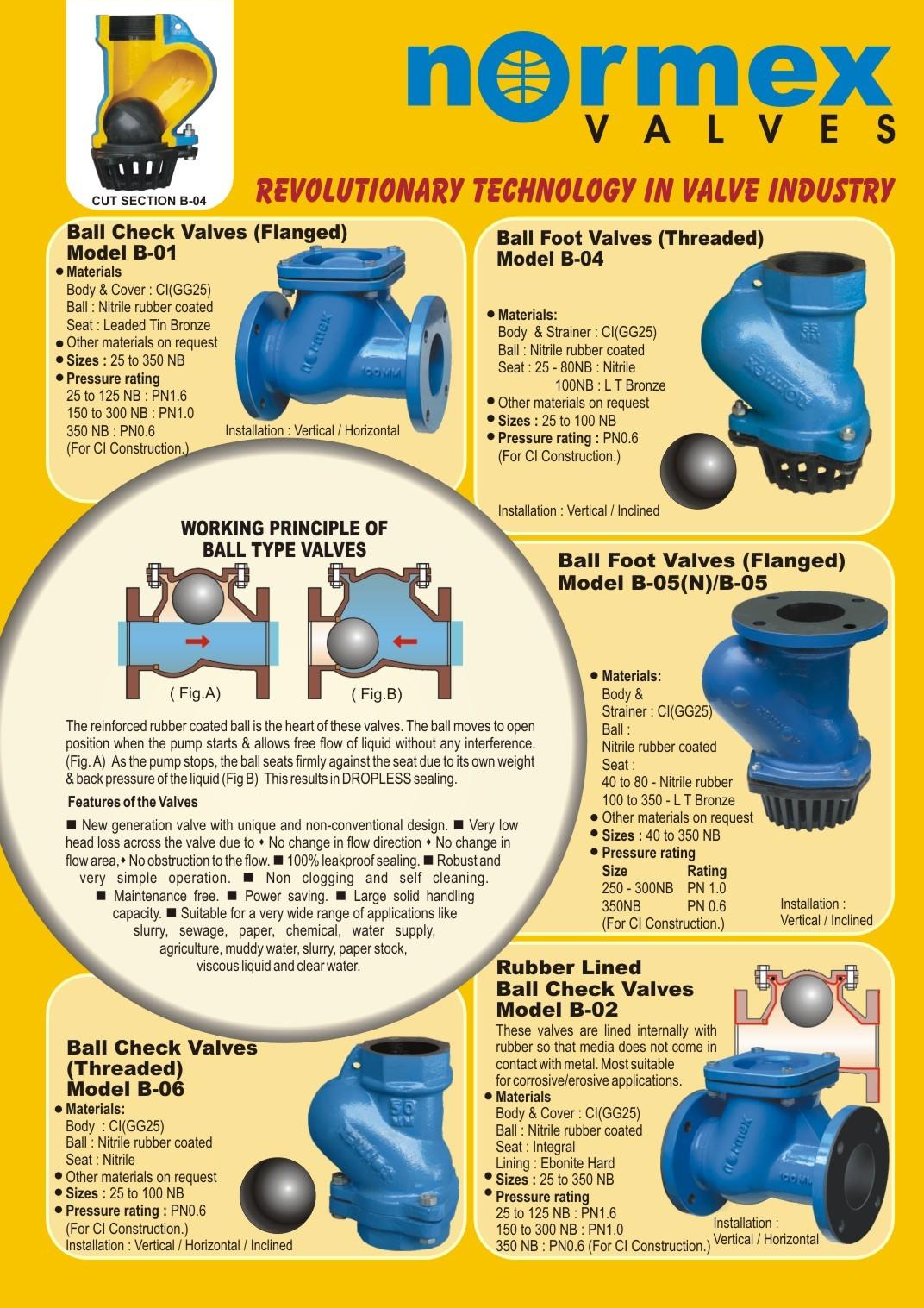 ball type check valves foot valves manufacturer india. Black Bedroom Furniture Sets. Home Design Ideas