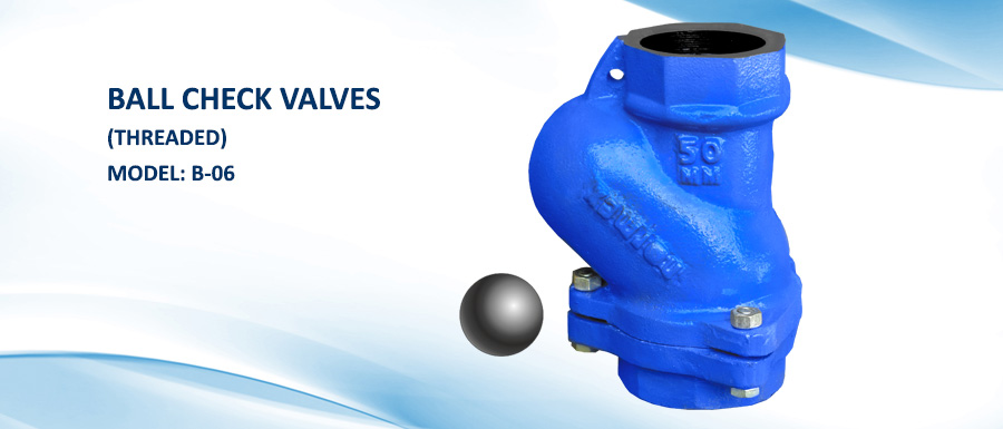 Ball Check Valves, Threaded Ball Check Valves, Manufacturer, Pune, India